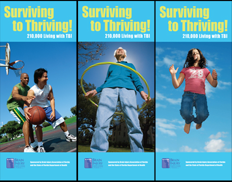 Banners for TBI Public Awareness Event
