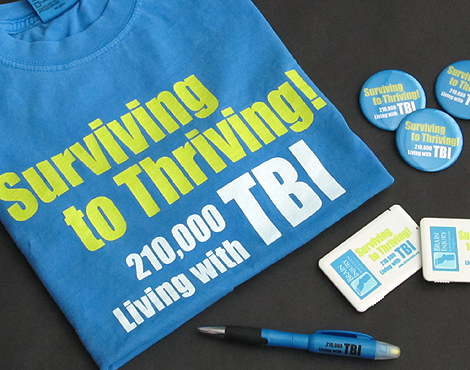 Event Branding for TBI Public Awareness Event