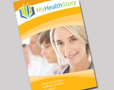MyHealthStory brochure