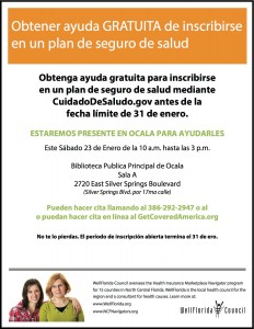 Jan. 23 Spanish-speaking Navigator event