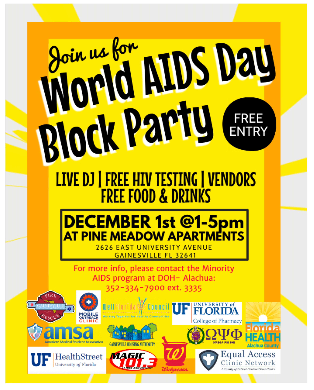 World AIDS Day   WellFlorida